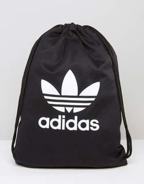 Adidas adidas Originals Drawstring Backpack With Trefoil Logo