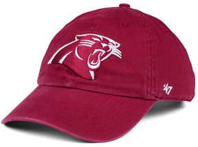 '47 Carolina Panthers Cardinal Clean Up Cap