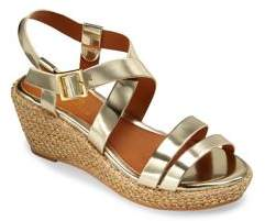 Ralph Lauren Toddler's Sabrina Metallic Wedge Sandals