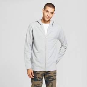 Jackson Men's Extended Full Zip Hoodie Sweatshirt Heather Gray