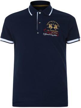 La Martina United Arab Emirates Logo Polo Shirt