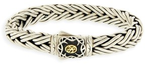Scott Kay Sterling Silver and 18K Gold Heavy 11mm Cable Men