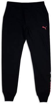 Puma Girls Apparel Knit Jogger Pants - Big Kid Girls