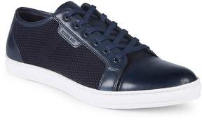 Kenneth Cole Men's Design Leather Woven Sneakers