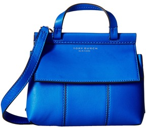 Tory Burch Block-T Mini Satchel Satchel Handbags - AGED VACHETTA/AGED VACHETTA - STYLE