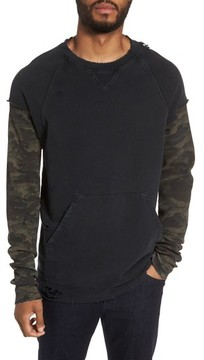 Hudson Men's Striker Slim Fit Crewneck Sweatshirt