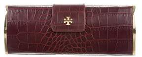 Tory Burch Embossed Frame Clutch - ANIMAL PRINT - STYLE