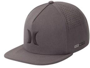 Hurley Men's Dri-Fit Icon Snapback Baseball Cap - Black
