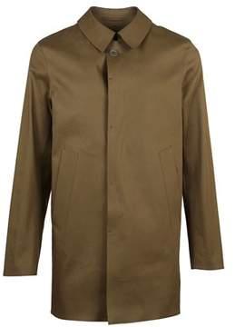 Herno Men's Im0172u131707793 Green Cotton Coat.