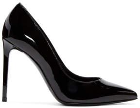 Saint Laurent Black Patent Leather Paris Heels