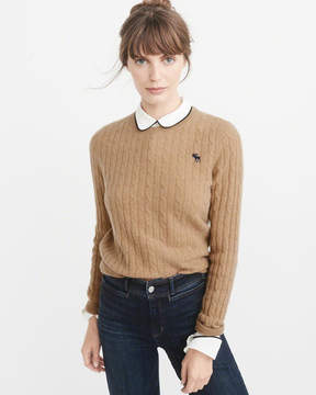 Abercrombie & Fitch Cashmere Icon Crew Sweater