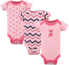 Luvable Friends Pink Bodysuit Set - Preemie