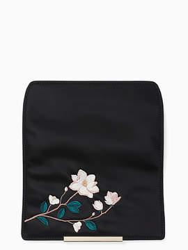 Kate Spade Make it mine embroidered magnolia flap