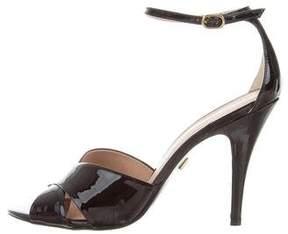 Pour La Victoire Crossover Ankle-Strap Sandals