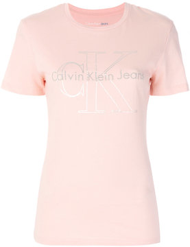 CK Calvin Klein logo print T-shirt