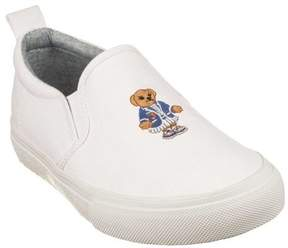 Polo Ralph Lauren Infant Girls' Carlee Bear Slip-On Sneaker - Toddler