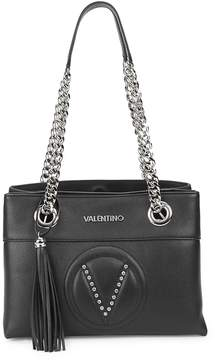Mario Valentino Valentino by Women's Kali Rhinestone Leather Shoulder Bag
