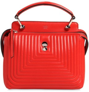 Fendi Small Dotcom Quilted Leather Bag