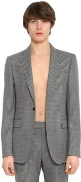 Wool Houndstooth Jacket