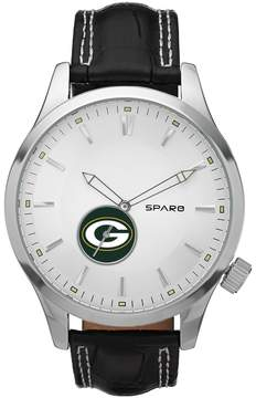 Icon Eyewear Sparo Watch - Men's Green Bay Packers Leather