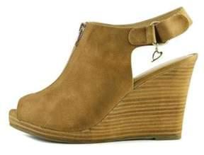 Thalia Sodi Womens Telma Peep Toe Slingback Mules.