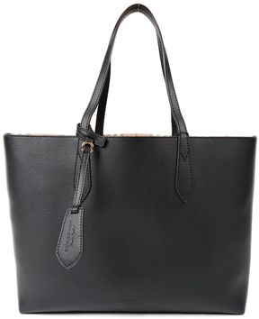 Burberry Medium Reversible Tote - BLACK - STYLE