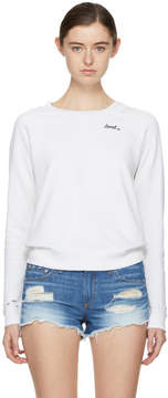 Amo White Loved Sweatshirt
