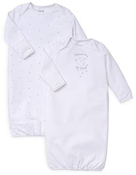 Little Me Unisex Welcome Gown, 2 Pack - Baby