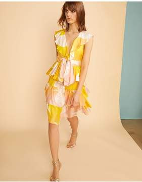 Cynthia Rowley | Jetset Pineapple Dress | Xl | Denim