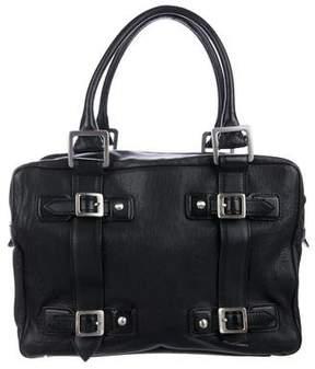 Hunter Leather Zip Shoulder Bag