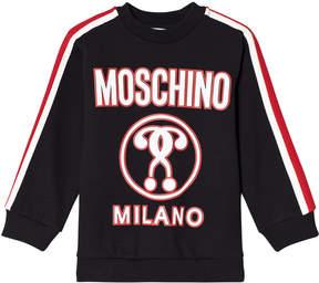 Moschino Black Milano Logo Sweatshirt