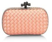 Bottega Veneta Woven Mini Knot Clutch