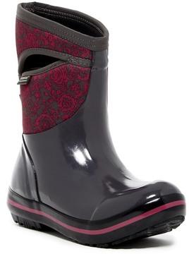 Bogs Plimsoll Mid Quilted Waterproof Rain Boot