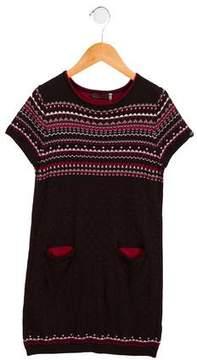 Catimini Girls' A-Line Sweater Dress