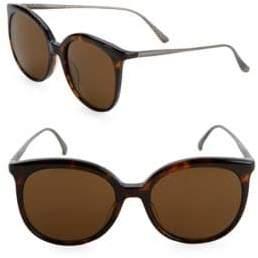 Bottega Veneta 53MM Round Sunglasses