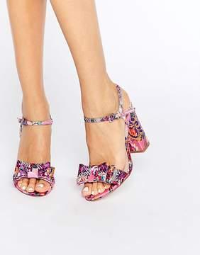 Asos HOLBORN Bow Heeled Sandals