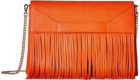 Moschino Fringes Shoulder Bag