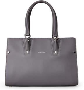 Longchamp Grey Paris Premier Small Tote