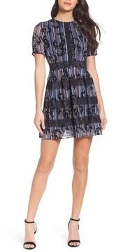 Chelsea28 Women's Stripe Minidress