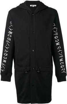 McQ longline hoodie