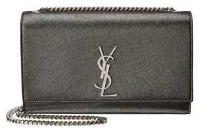 Saint Laurent Classic Medium Kate Leather Satchel. - BLACK - STYLE