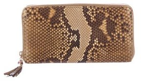 Gucci Bamboo Python Tassel Wallet - BROWN - STYLE