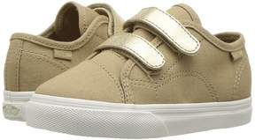 Vans Kids Style 23 V Metallic/Cornstalk) Girl's Shoes