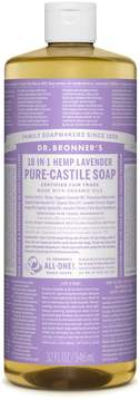 Dr. Bronner's Lavender Castile Liquid Soap by 32oz Liquid)