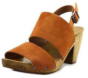 Kelsi Dagger Breacs Women Open-toe Suede Slingback Sandal.