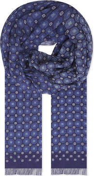 Eton Geometric print scarf