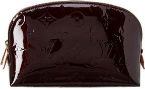 Louis Vuitton Purple Monogram Vernis Leather Cosmetic Case