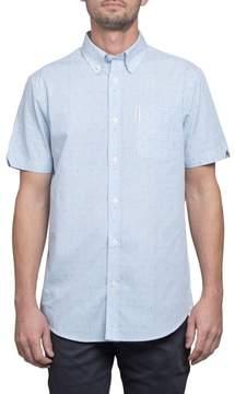Ben Sherman Slim Fit Stripe Short Sleeve Sport Shirt
