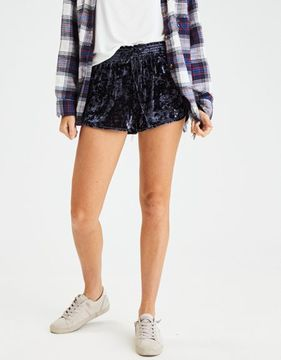 American Eagle Outfitters AE Crushed Velvet Short