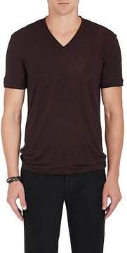John Varvatos Men's Slub-Linen Jersey T-Shirt